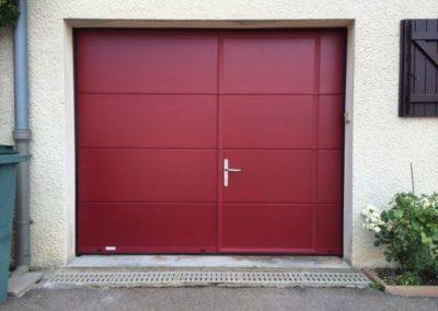 Porte de garage - Gypass - Gianori Habitat - Soprano - Portillon