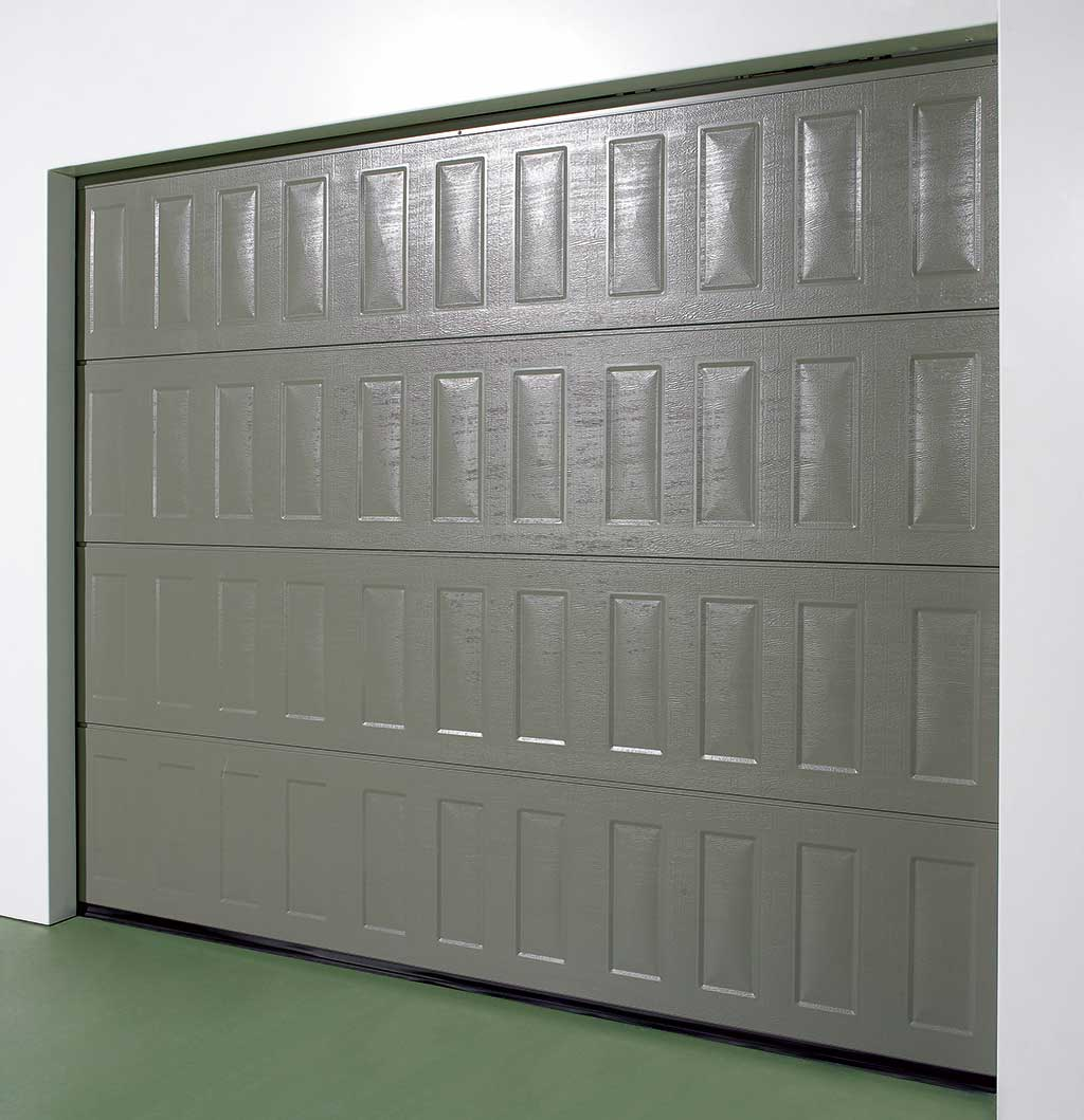 Portes De Garage Sectionnelles Ou Battantes