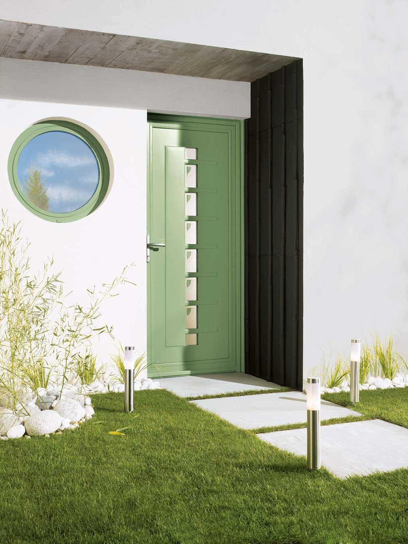 portes d 39 entr e du classique au design. Black Bedroom Furniture Sets. Home Design Ideas
